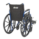 "Blue Streak Wheelchair with Flip Back Desk Arms, Elevating Leg Rests, 18"" Seat - Discount Homecare & Mobility Products"