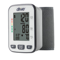 Automatic Deluxe Blood Pressure Monitor, Wrist - Discount Homecare & Mobility Products