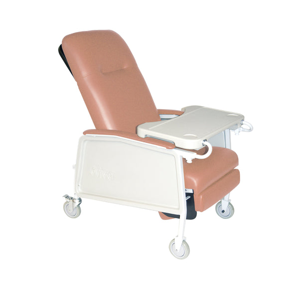 3 Position Geri Chair Recliner, Rosewood - Discount Homecare & Mobility Products