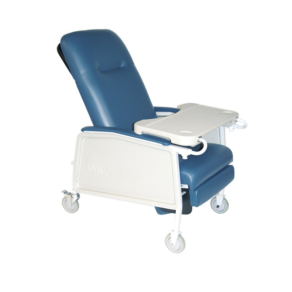 3 Position Heavy Duty Bariatric Geri Chair Recliner, Blue Ridge - Discount Homecare & Mobility Products