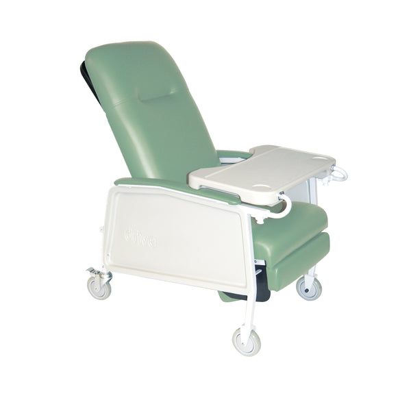 3 Position Heavy Duty Bariatric Geri Chair Recliner, Jade - Discount Homecare & Mobility Products