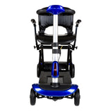 ZooMe Auto-Flex Folding Travel Scooter, Blue - Discount Homecare & Mobility Products