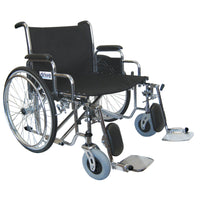 Front Rigging for Sentra Heavy Duty Wheelchair, Elevating Leg Rests, 1 Pair - Discount Homecare & Mobility Products