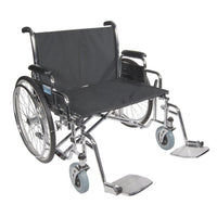Front Rigging for Sentra EC Heavy Duty Extra Wide, Swing away Footrests, 1 Pair - Discount Homecare & Mobility Products