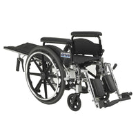 "Viper Plus GT Full Reclining Wheelchair, Detachable Full Arms, 18"" Seat - Discount Homecare & Mobility Products"