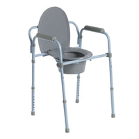 Steel Folding Frame Commode - Discount Homecare & Mobility Products