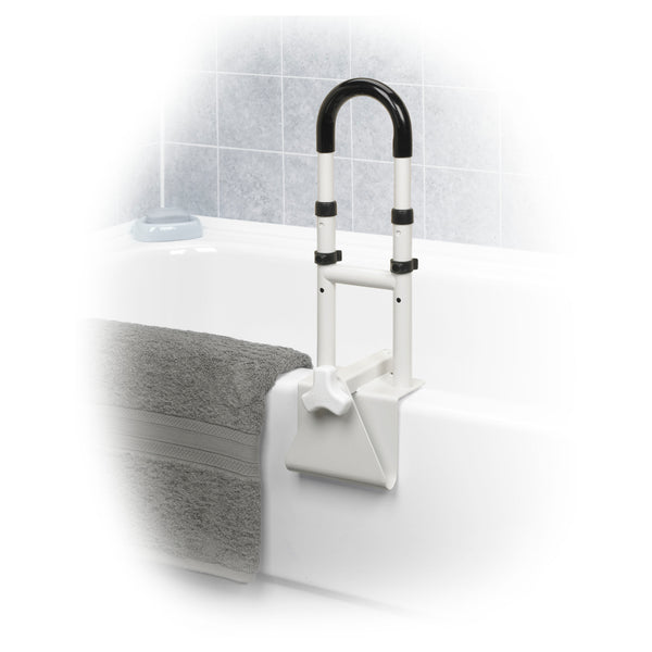 Adjustable Height Bathtub Grab Bar Safety Rail - Discount Homecare & Mobility Products