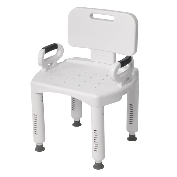 Premium Series Shower Chair with Back and Arms - Discount Homecare & Mobility Products