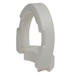 Hinged Toilet Seat Riser, Elongated Seat - Discount Homecare & Mobility Products