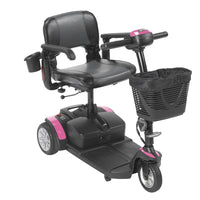 Spitfire EX2 3-Wheel Travel Scooter, Extended Battery - Discount Homecare & Mobility Products