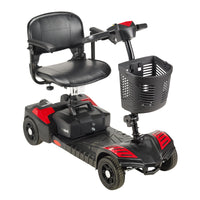 Scout Compact Travel Power Scooter, 4 Wheel - Discount Homecare & Mobility Products