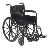 Silver Sport 1 Wheelchair with Full Arms and Swing away Removable Footrest - Discount Homecare & Mobility Products