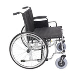 "Sentra EC Heavy Duty Extra Wide Wheelchair, Detachable Desk Arms, 28"" Seat - Discount Homecare & Mobility Products"