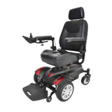 "Titan Transportable Front Wheel Power Wheelchair, Full Back Captain's Seat, 16"" x 18"" - Discount Homecare & Mobility Products"