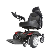 "Titan Transportable Front Wheel Power Wheelchair, Full Back Captain's Seat, 20"" x 18"" - Discount Homecare & Mobility Products"