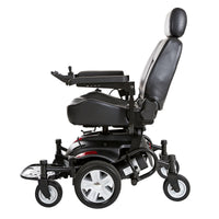 "Titan AXS Mid-Wheel Power Wheelchair, 18""x16"" Captain Seat - Discount Homecare & Mobility Products"