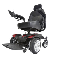 "Titan Transportable Front Wheel Power Wheelchair, Vented Captain's Seat, 18"" x 18"" - Discount Homecare & Mobility Products"
