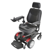 "Titan X23 Front Wheel Power Wheelchair, Vented Captain's Seat, 18"" x 18"" - Discount Homecare & Mobility Products"