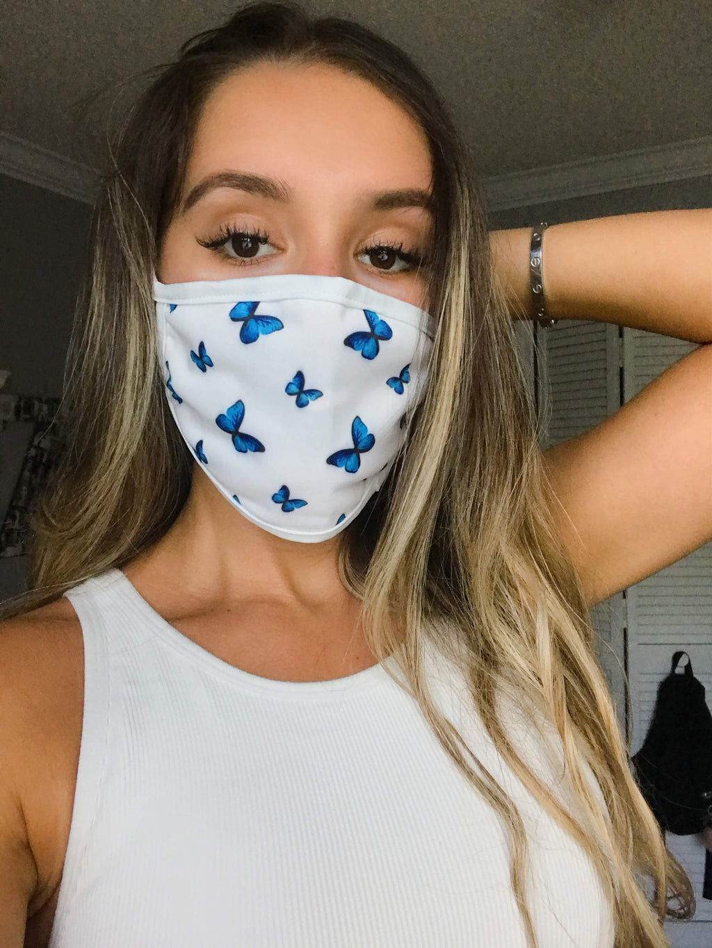 Butterfly Face Mask - Zoe All Over