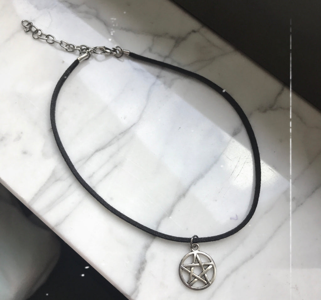 Pentagram Choker - Zoe All Over