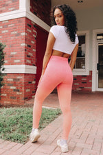 OMBRE SPORT LEGGINGS (5 COLORS) - Zoe All Over