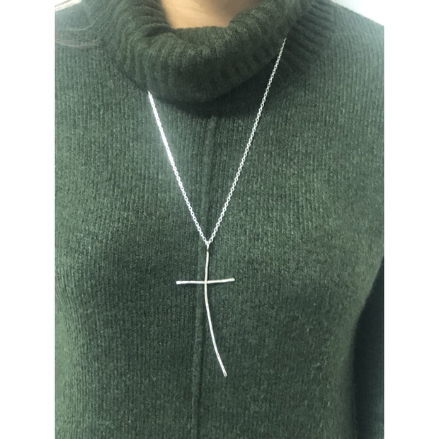 Statement Large Cross Necklace