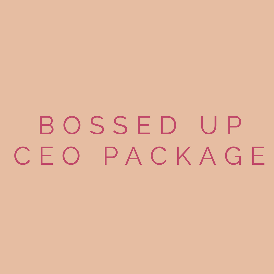 CEO & BOSS PACKAGE