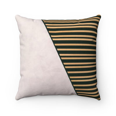 Decorative Pillow - Wood and Marble