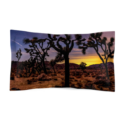 Microfiber Pillow Sham - Joshua Tree Park (4 of 4)