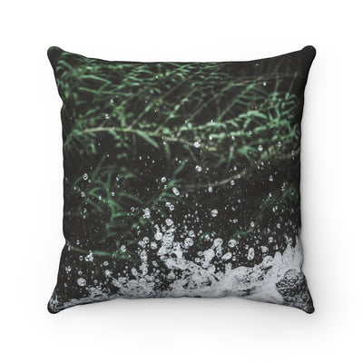 Decorative Pillow - Splashing Water