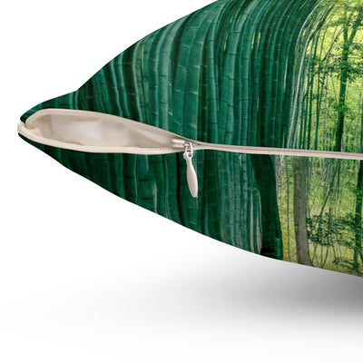 Decorative Pillow - Bamboo Forest