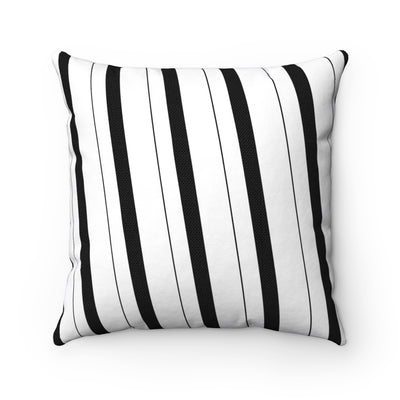 Decorative Pillow - Black & White Verticals