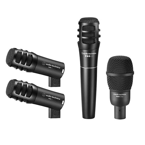 Audio Technica PRO-DRUM 4 Drum Mic Pack