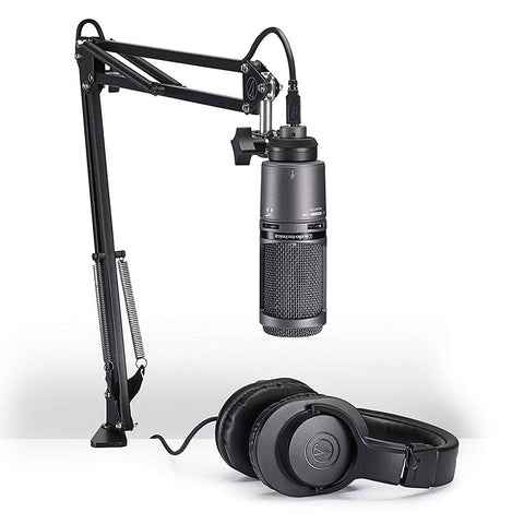 Audio Technica Streaming/Podcasting Pack AT2020USB+PK