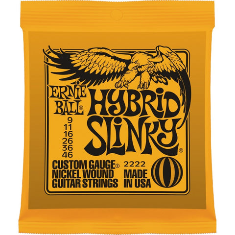 Ernie Ball : 2222 - Hybrid Slinky Nickel Wound Electric Guitar Strings