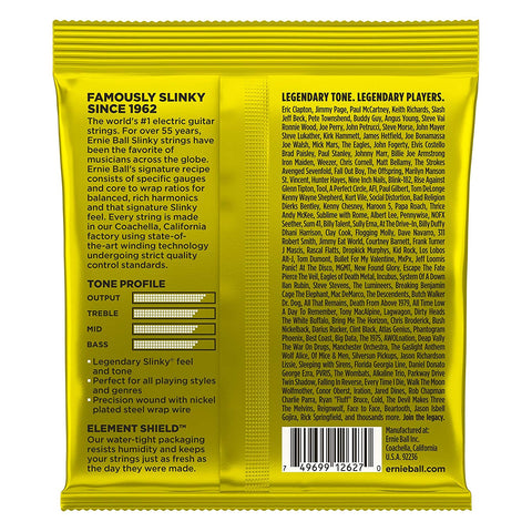 Ernie Ball : 2627 - Beefy Slinky Nickel Wound Electric Guitar Strings