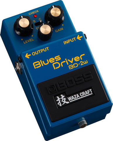 Boss BD-2W Distortion Overdrive Waza Craft