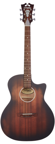 D'Angelico Premier Gramercy LS Acoustic/Electric, Aged Mahogany