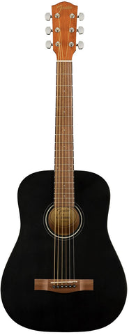 Fender FA-15 3/4 Scale Steel-String, Black