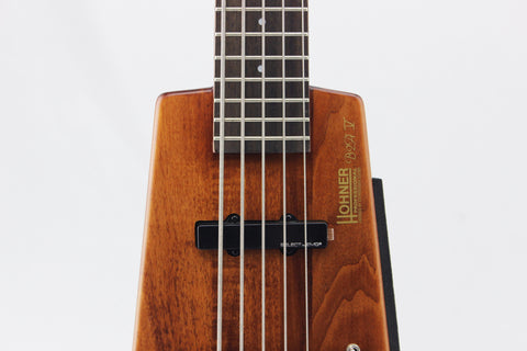Hohner B2AV-WS 5-String Headless Bass, Walnut Satin