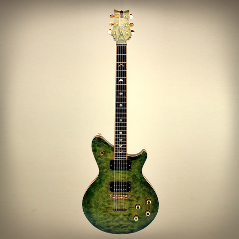 JET Earlewood EW004 Green - Handmade By Jeffrey Terwilliger