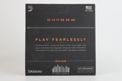 D'Addario NYXL1046 Nickel Wound Electric Strings - Regular Light 10-46