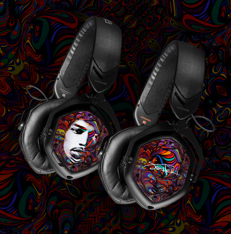 "V-MODA Crossfade 2 Wireless Bluetooth Headphones – Jimi Hendrix ""Peace, Love and Happiness"" Special Edition"