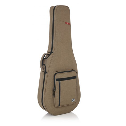 Gator Tan Transit Lightweight Dreadnought Guitar Case