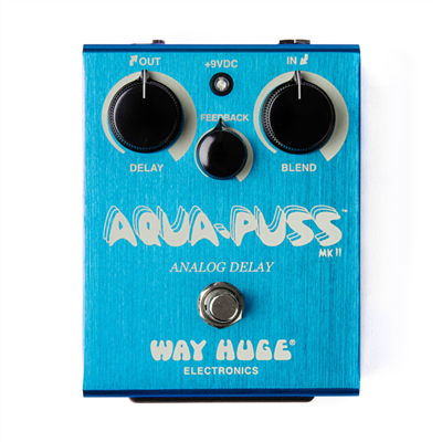 Way Huge Aqua-Puss Analog Delay Pedal