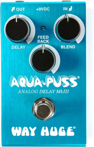 Way Huge Smalls Aqua-Puss Analog Delay Pedal