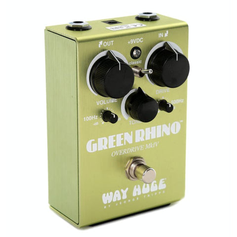 Way Huge Green Rhino Overdrive MKIV Pedal