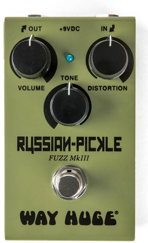 Way Huge Smalls Russian-Pickle Fuzz Pedal