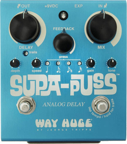 Way Huge Supa-Puss Analog Delay Pedal