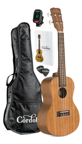 Cordoba UP100 Concert Ukulele Package
